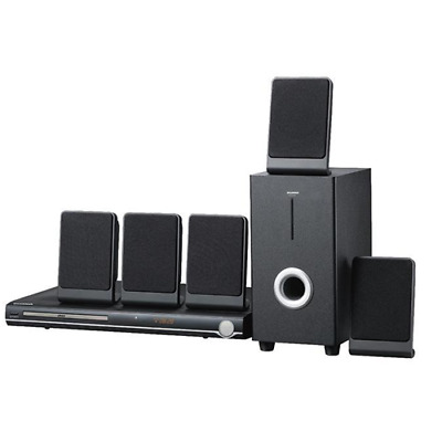 Sylvania SDVD5088 5.1 Channel Progressive Scan DVD Home Theater Speaker System
