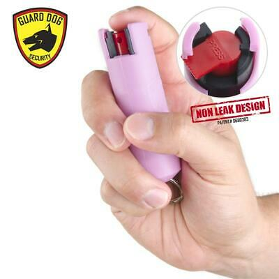 Guard Dog Pepper Spray 1/2 Oz Pink. Free Pepper Spray for Life!
