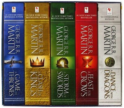 A Game of Thrones: A Song of Ice and Fire by George R.R Martin, all 5 audiobook