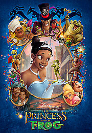 The Princess and the Frog DVD (2010) Ron Clements