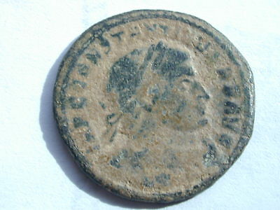 Constantine the Great AE follis 3.67g 22mm 7h Ostia Mint 315 AD RIC VII 83