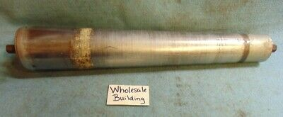 "Tapered Conveyor Roller,  Diameter 1-7/8"" - 2-5/8"", O.a.l. 16"", Hex Axle 7/16"""