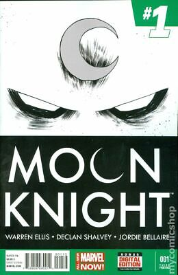 Moon Knight (5th Series) 1G 2014 Shalvey Variant 3rd Printing VF Stock Image