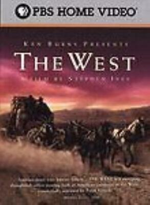 Ken Burns Presents: The West: A Film By Stephen Ives 5-Disc Set DVD VIDEO MOVIE
