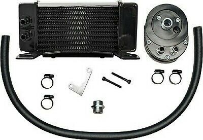 Lowmount 10-Row Oil Cooler System (Chrome)