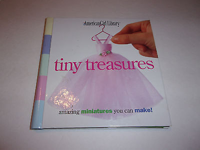 (3)  American Girl Library: Amazing Miniatures / Doll School / Doll Travel  VG