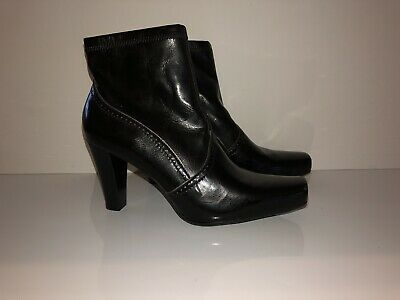 5c9537eac6a8 FRANCO SARTO GARDA leather ankle boot bootie Sz 8 1 2 m -  39.99 ...