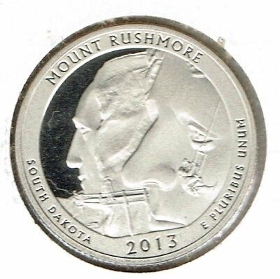 2013-S San Francisco Proof Mount Rushmore National Memorial Quarter Coin!
