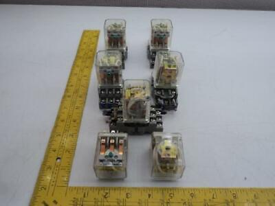 Lot of 2 Square D8501KPDR12V53 Plug in GP Relay