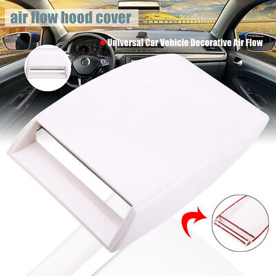 SODIAL R Voiture Mini Verificateur Impression Ecope Couvre-event Decoratif Debit dair Capot