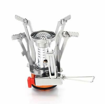 Cooker Gas Hiking Stove Compact Outdoor Portable Heater Camping Mini Fishing