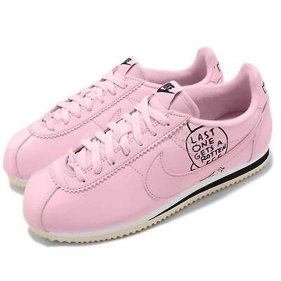 on sale fc188 30a74 Nike Classic Cortez X Nathan Bell Pink Foam Black Mens Running Shoes  BV8165-600