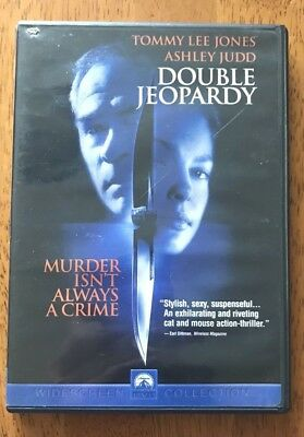 Double Jeopardy DVD Starring Tommy Lee Jones and Ashley Judd