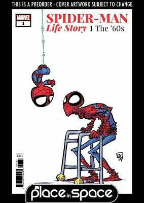 (Wk12) Spider-Man: Life Story #1B - Skottie Young Variant - Preorder 20Th Mar