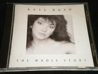 CD-KATE BUSH/ THE Whole Story/Best of 12 Songs 1986 - $4 39 | PicClick