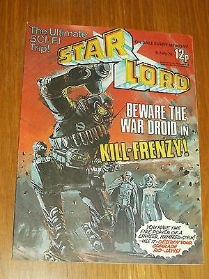 Star Lord British Weekly Comic 8 July 1978 2000Ad^