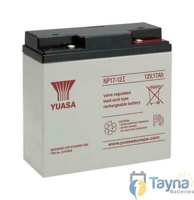 Yuasa NP17-12i Valve Regulated Lead Acid Batterie 12V 17Ah
