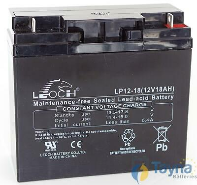 Leoch LP12-18 12V 18Ah Sealed Batterie