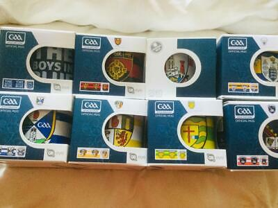 Official All Ireland Gaa Ceramic Mugs All 32 Counties Available
