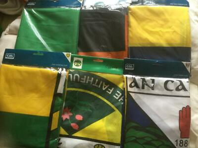 Official All Ireland Gaa Large 5'X3' Flags All 32 Counties Available