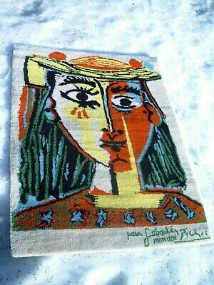 Pablo Picasso Teppich DESSO NL Limited edition 447/500 rug tappeto wall floor