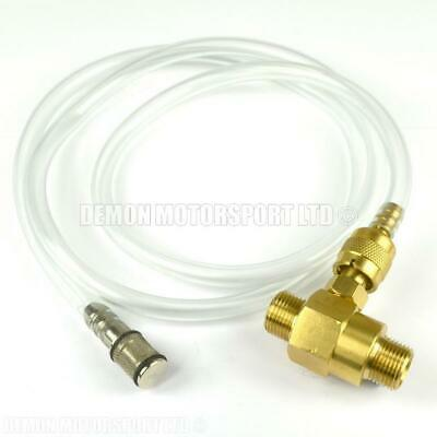 Pressure Washer Chemical / Soap Venturi Injector Brass (Adjustable) 3/8 BSP