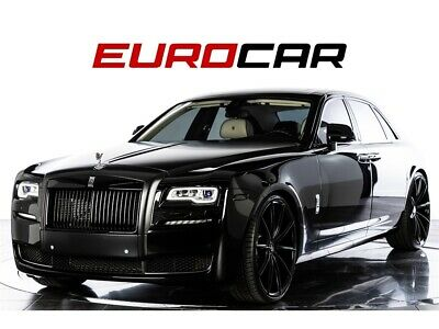 """2015 Ghost Complete Blackout 2015 Rolls-Royce Ghost, CUSTOM BLACK-OUT, NEW 24"""" WHEELS! STUNNING!!"""