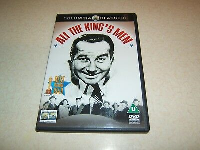 All The King's Men : Broderick Crawford 1949  Region 2 Dvd