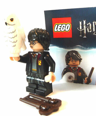 Lego Minifigure Figurine Serie Harry Potter N° 1 Harry Potter Et Sa Chouette