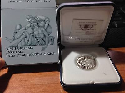 vaticano 10 euro PAPA FRANCESCO ANNO 2014 - MONETA COMMEMORATIVA proof