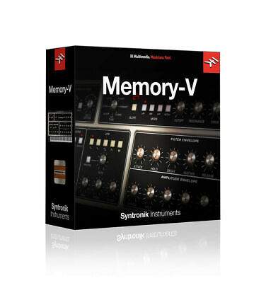 IK Multimedia: Memory-V Syntronik Instruments License Key INSTANT DELIVERY