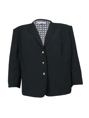 Tahari by ASL Women's Palm Beachy Three Button Blazer
