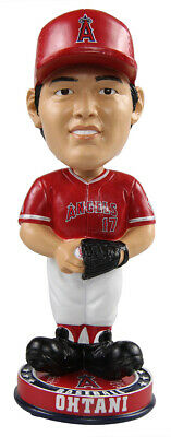 3baee0a293a Shohei Ohtani  17 (Los Angeles Angels) Pitching MLB Knucklehead Bobble by  Foco