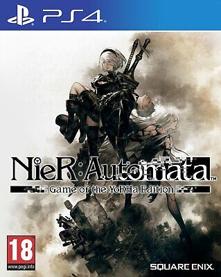 NieR: Automata Game of the YoRHa Sony Playstation PS4 Game 18 Years