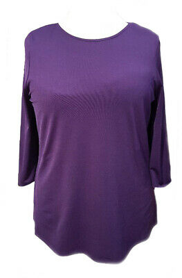 Plus Size Purple Tunic Top *Sofo Curves* Sizes 16 to 36 UK SELLER