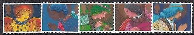 Gb Great Britain 1998 Christmas Set Never Hinged Mint