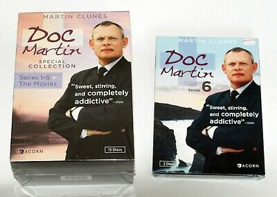 Doc Martin NEW SEALED Special DVD Collection: Series 1-5 + Movies ALSO SERIES 6