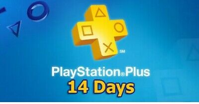 2 Week PlayStation PS Plus PS4-PS3 -Vita ( NO CODE )