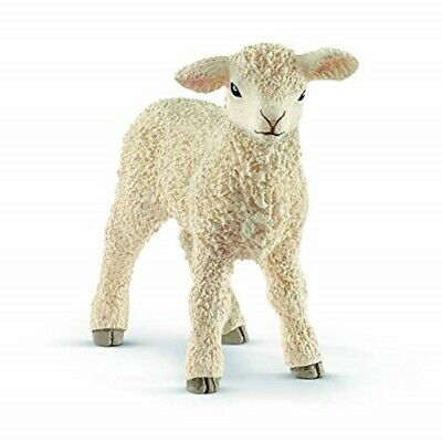 <><  Lamb 13883 Lamb sheep strong tough looking Schleich Anywhere's Playground