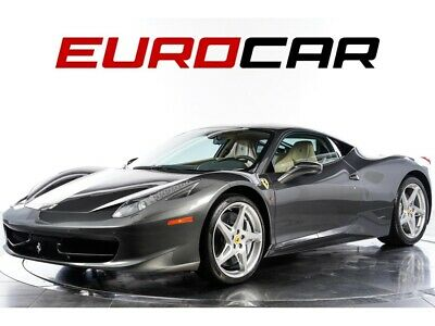 2013 458 Italia One Owner Vehicle, Low Miles! 13 FERRARI 458, ONLY 4000 MILES, CARBON RACE SEATS, SUSPENSION LIFT