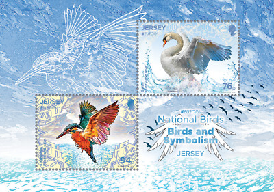 EUROPA CEPT - 2019 - Jersey - 1.Mini S/Sheet - (National birds) ** MNH