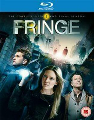 Fringe: The Complete Fifth and Final Season - Blu-ray Region A Free Shipping!
