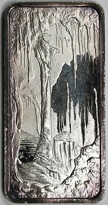 Carlsbad Caverns ATB Hamilton Mint .999 Fine Silver Art Bar - 1 Troy oz (Color)