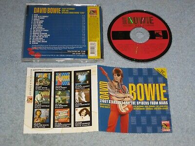 David Bowie Ziggy Stardust And The Spiders From Mars Live rare gold CD, USA 1972