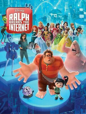 Ralph Breaks The Internet (2019,new,dvd,release) Family,fun,free Shipping...