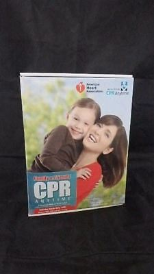 American Heart Assoc. CPR Anytime Complete Training Kit With Mini Anne Manikin