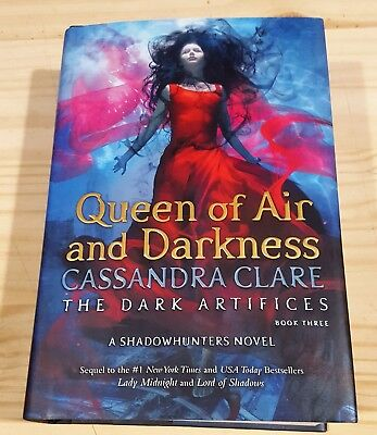 CASSANDRA CLARE QUEEN OF AIR AND DARKNESS SIGNED 1st PRINT NEW & UNREAD