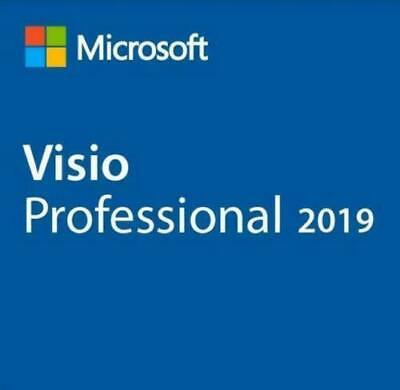 License Visio 2019 Professional. 32 & 64 bit. Product Key / Code + Download LINK
