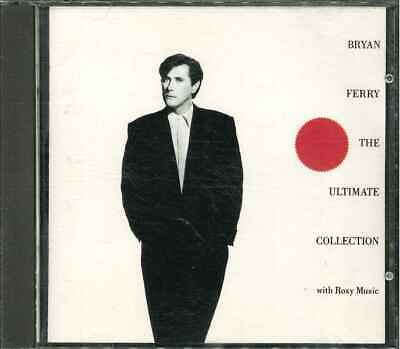 "BRYAN FERRY WITH ROXY MUSIC ""The Ultimate Collection"" Best Of CD-Album"