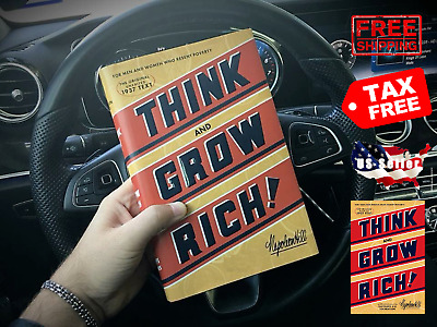 Think and Grow Rich Or Men and Woman Who Resent Poverty by Napoleon Hill No Ship